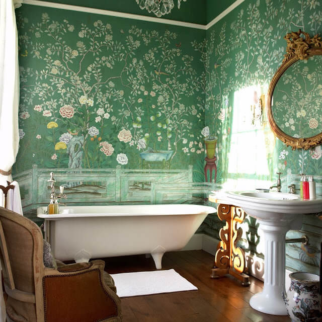 de gournay bathroom