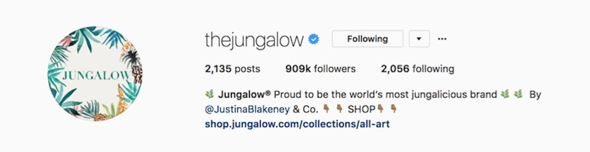https://www.instagram.com/thejungalow/?hl=en