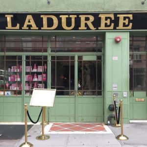 Ladurée restaurant- Paris in downtown Manhattan