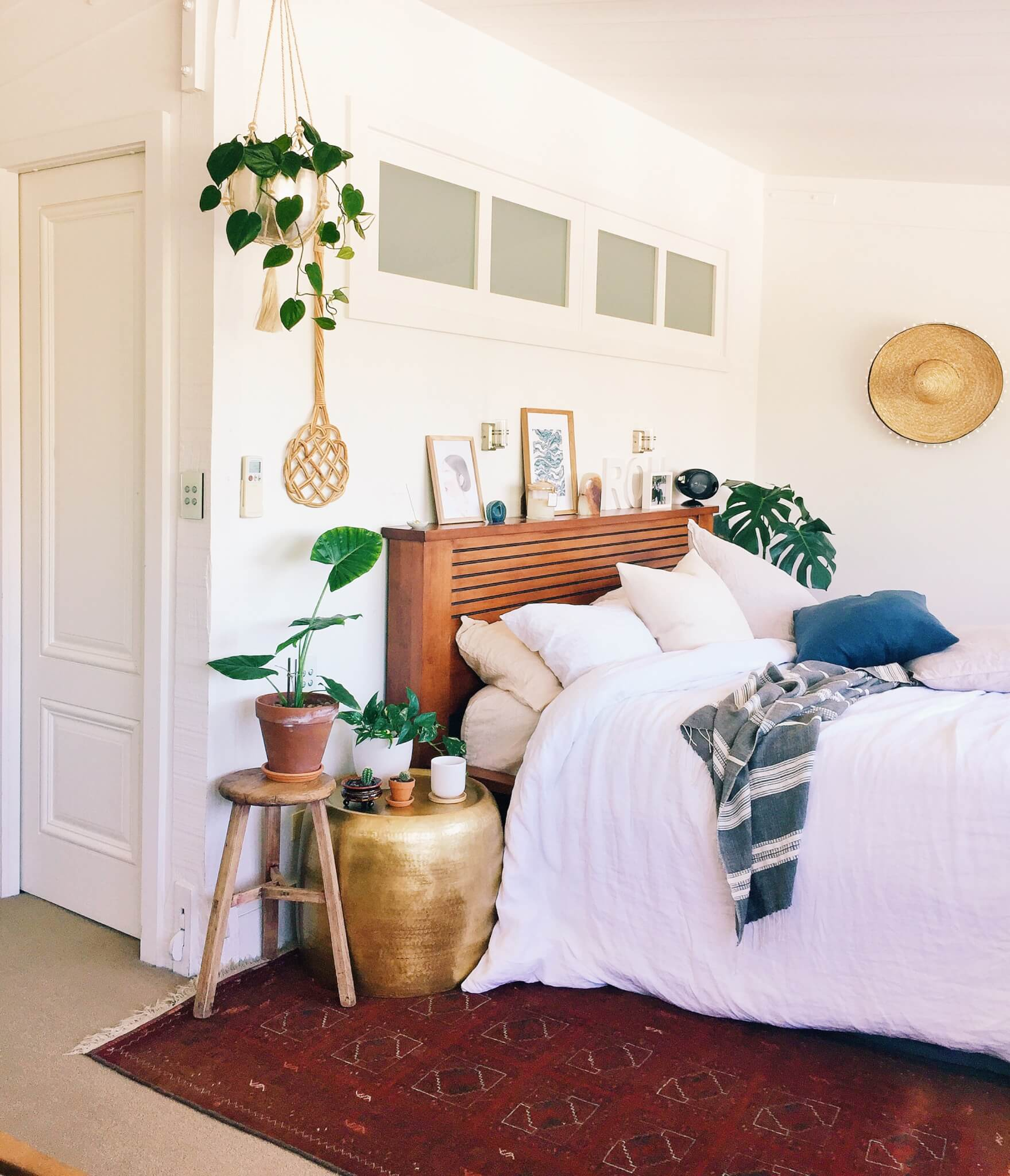 bedroom boho chic