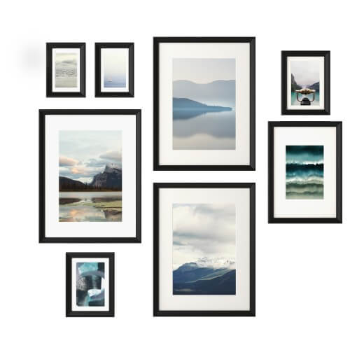 ikea 8 unit set picture frames