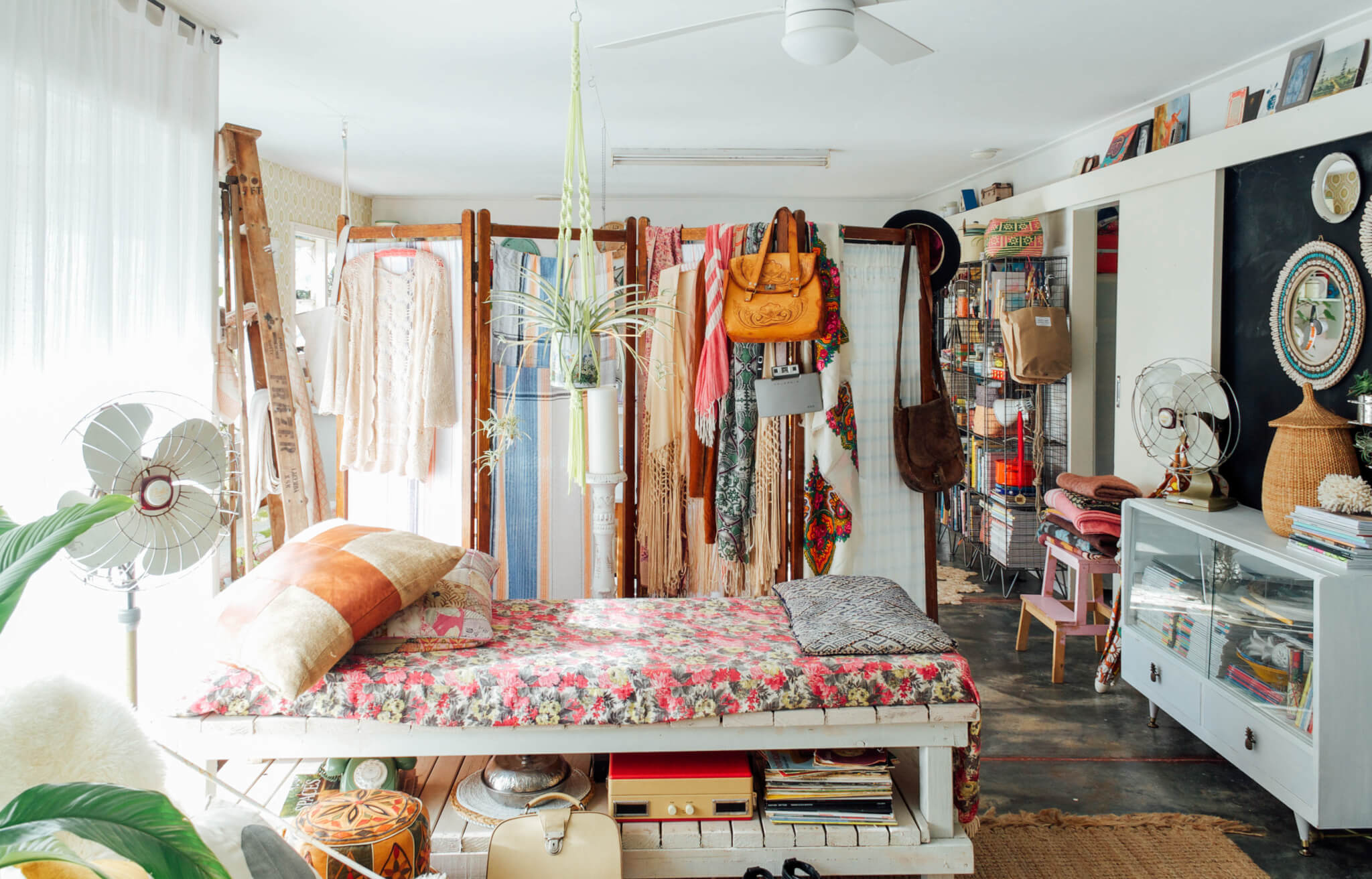 small bedroom maximalism australia