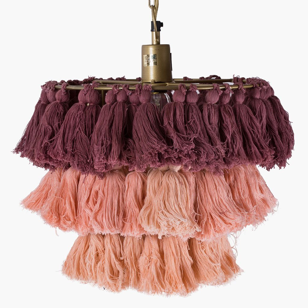 Blush Fela Wall Pendant by Justina Blakeney