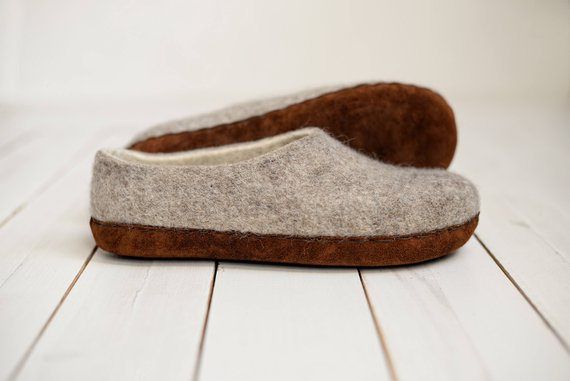 hygge decor eco shoes wool