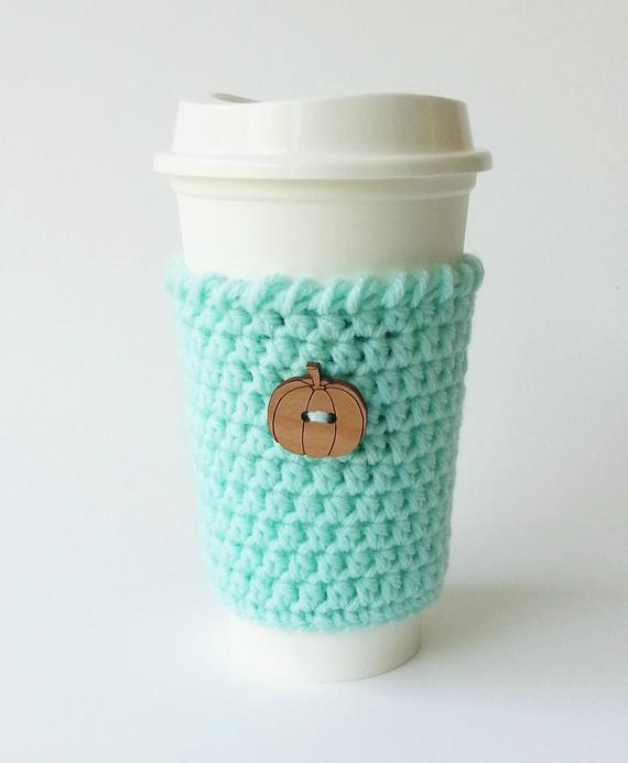 hygge decor cozy coffee mug knit