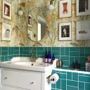 A Gorgeous Bathroom Makeover on a Budget